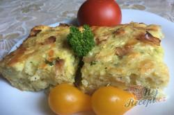 Příprava receptu Cuketový nákyp se šunkou a sýrem, krok 9
