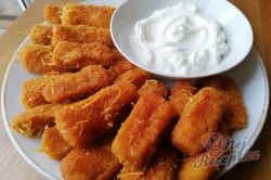 Příprava receptu Extra křupavé česnekově-cuketové tyčinky z trouby, krok 1