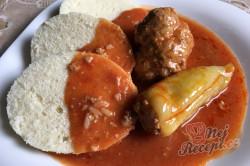 Příprava receptu Tradiční, chuťově nepřekonatelná plněná paprika v rajčatové omáčce, krok 7