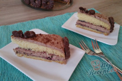 Příprava receptu Koka dortík s tvarohovým krémem, krok 1