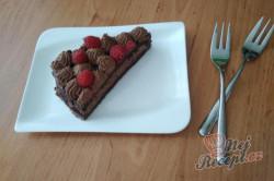 Příprava receptu Extra čokoládový dort s malinami, krok 1