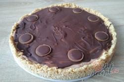 Příprava receptu Toffifee cheesecake, krok 2