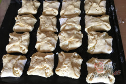 Babiččin recept - tvarohové kynuté šatičky, krok 7