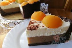 Příprava receptu Krémový kaštanový dort bez pečení, krok 2