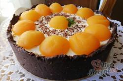 Příprava receptu Krémový kaštanový dort bez pečení, krok 1