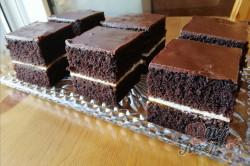 Příprava receptu Kakaový koláček s meruňkovou marmeládou, krok 5