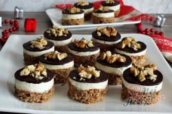 Příprava receptu Nanukové vánoční ESKIMO řezy s čokoládovou polevou, krok 1
