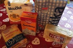 Příprava receptu Fantastické mini šlehačkové cukroví, krok 1