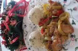 Recept Marinované kuřecí nudličky se zeleninou