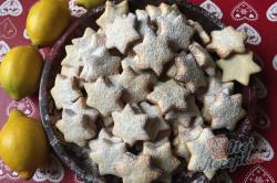 Příprava receptu Citrónové hvězdičky ze zakysané smetany, krok 8