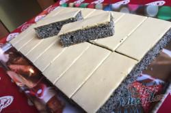 Příprava receptu Vynikající makové žloutkové řezy, krok 16