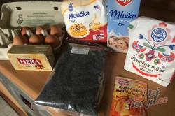 Příprava receptu Vynikající makové žloutkové řezy, krok 1