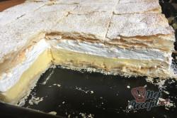 Příprava receptu Falešný francouzský krémeš z listového těsta, krok 16