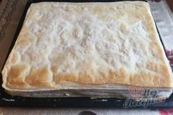 Příprava receptu Falešný francouzský krémeš z listového těsta, krok 12