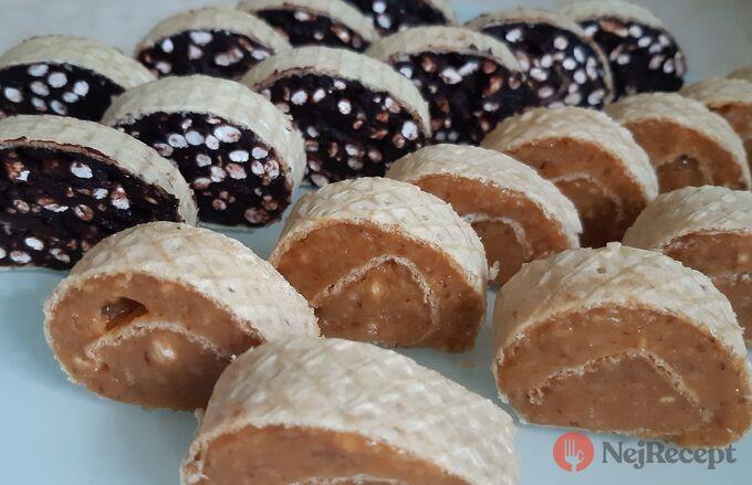 Tradiční recept na grilážové a burizónové rolády, kterých chuť Vás vrátí do dětství.