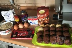 Příprava receptu Božské košíčky Izidor podle Marianky, krok 1