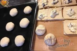 Příprava receptu Měkkoučké moravské koláče jako od babičky (těsto ze šlehačkové smetany), krok 13