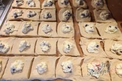 Příprava receptu Měkkoučké moravské koláče jako od babičky (těsto ze šlehačkové smetany), krok 12