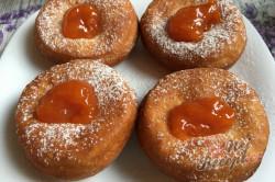 Příprava receptu Fantastické máslové koblihy s domácí marmeládou, krok 8