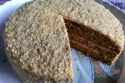Příprava receptu Mrkvový dort ZAJÍČEK, krok 21