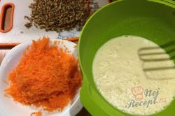 Příprava receptu Mrkvový dort ZAJÍČEK, krok 3