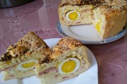 Příprava receptu Tajemný slaný dort, krok 12