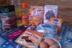 Příprava receptu Tvarohový koláč s pomerančovou želatinou, krok 1