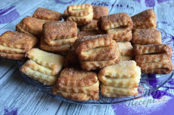 Příprava receptu Křehoučké koláčky z tvarohu na celý týden. Pouze 3 suroviny a sladká pochoutka je na světě., krok 11