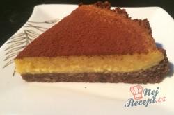 Příprava receptu FITNESS nepečený mangový dort, krok 11
