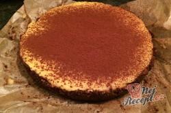 Příprava receptu FITNESS nepečený mangový dort, krok 10