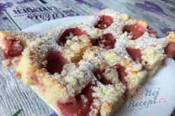 Příprava receptu Hrníčková rychlovka s jahodami, krok 9