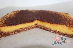 Příprava receptu FITNESS nepečený mangový dort, krok 9