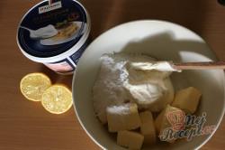 Příprava receptu Zdravější zákusek KRÁLÍČEK s mascarpone krémem a oříšky, krok 12