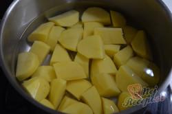 Příprava receptu Bramborové krokety plněné sýrem, krok 1