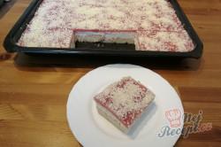 Příprava receptu Osvěžující zmrzlinový koláč SNĚHURKA bez pečení, krok 5