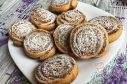 Příprava receptu Bombastické ořechové válečky ke kávičce, krok 17