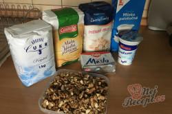 Příprava receptu Bombastické ořechové válečky ke kávičce, krok 1