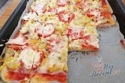 Příprava receptu Fantastická domácí pizza bez droždí (bez kynutí), krok 11