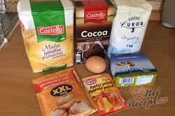 Příprava receptu Křehké a rychlé domácí sušenky připravené za pár minut, krok 1