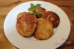 Příprava receptu 5 minutové tvarohové lívance s jablky, krok 7