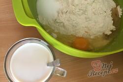 Příprava receptu Fantastické škvarkové pagáče s vařeným bramborem, krok 1