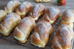 Příprava receptu Dokonalé pudinkáče s vanilkovým krémem a jahodami, krok 2