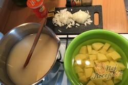 Příprava receptu Brokolicová polévka - krémová a hustá, krok 5