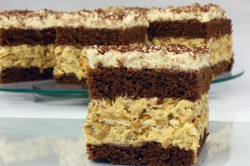 Příprava receptu Slavnostní karamelové řezy se slunečnicovými semínky, krok 1