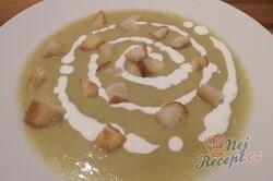 Příprava receptu Zcela jednoduchá brokolicová polévka, krok 7