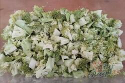 Příprava receptu Zcela jednoduchá brokolicová polévka, krok 6