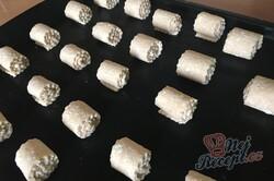 Příprava receptu Rychlé a křehké tvarohové mini rolky, krok 8