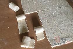 Příprava receptu Rychlé a křehké tvarohové mini rolky, krok 7