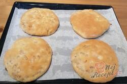 Příprava receptu Falešné zelňáky - pšeničné placky plněné zelím, krok 9