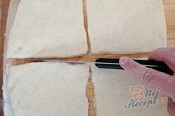Příprava receptu Falešné zelňáky - pšeničné placky plněné zelím, krok 6